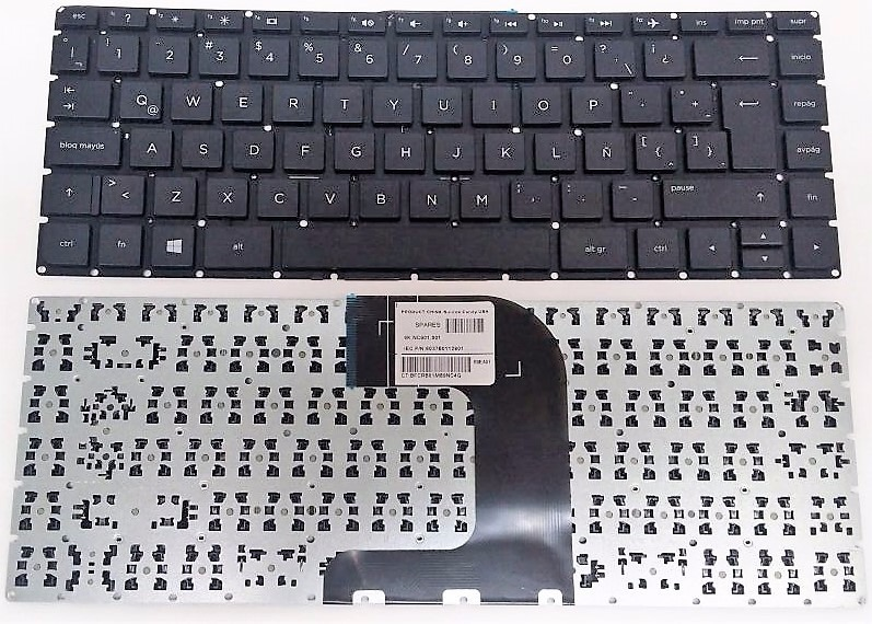 Teclado HP 14-am ORIGINAL